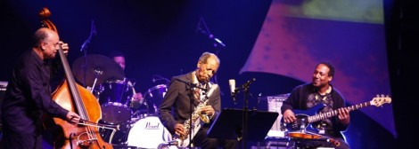 Ornette Coleman Quartet, moers festival 2011, Foto by Oliver Heisch