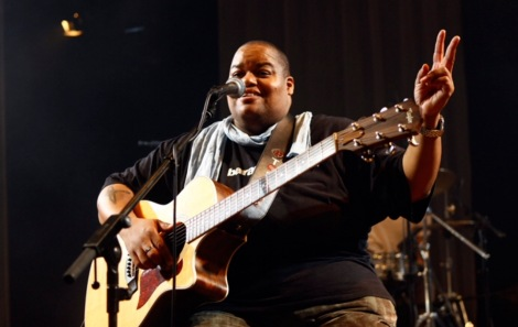 Toshi Reagon @ moers festival 2010 (Foto: Oliver Heisch)